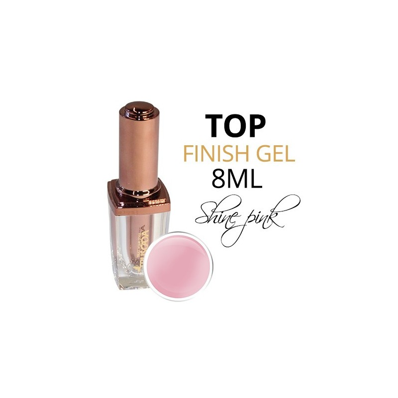 TOP Gel Shine Pink 8ml