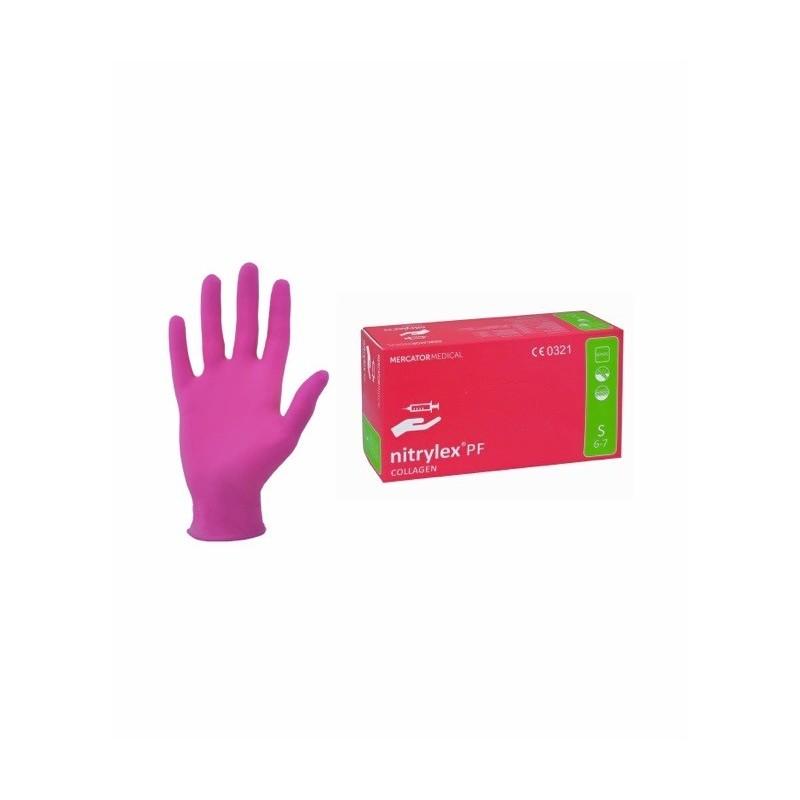 97b9e2128e1ea6 ... Rękawice Nitrylex Collagen PF spełniają normy BHP: EN-374-2  zabezpieczenie przed mikroorganizmami, EN-374 odporność na środki  chemiczne, EN-388 ochrona ...