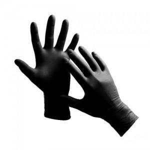 Rękawice S Nitrylex BLACK...